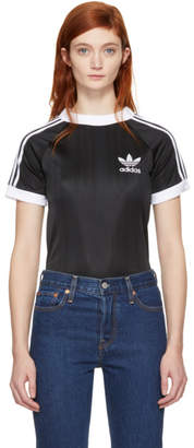adidas Black Styling Complements Football T-Shirt