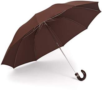 Gizelle Renee - The Serendipity Compact Brown Umbrella
