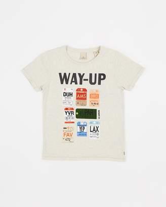 Scotch Shrunk Souvenir Artwork T-Shirt - Teens