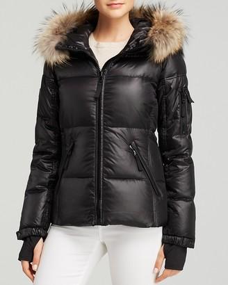 SAM. Blake Fur-Trim Down Coat $550 thestylecure.com