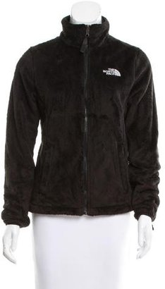 The North Face Textured Long Sleeve Jacket $80 thestylecure.com