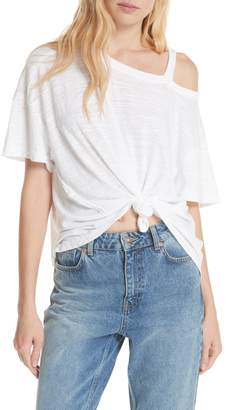 Free People Alex Cutout Tee