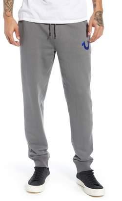 True Religion Brand Jeans Foil Buddha Logo Slim Jogger Pants