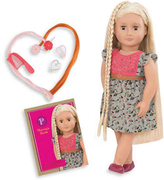 Our Generation Hairgrow Phoebe Doll with Book