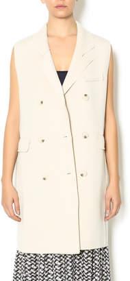 Freeway Sleeveless Trench Coat Vest
