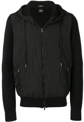 HUGO BOSS drawstring hood jacket