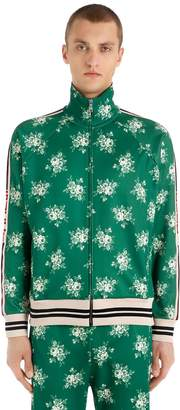 Gucci Printed Jersey Track Jacket