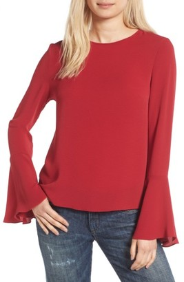 Women's Wayf Winning Hand Bell Sleeve Top $59 thestylecure.com