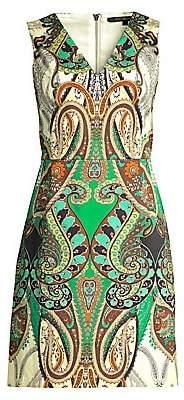 Kobi Halperin Women's Dara V-Neck Print Dress