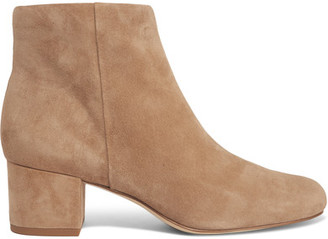 Sam Edelman - Edith Suede Ankle Boots - Sand $150 thestylecure.com