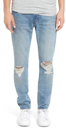 Levi's Levi&s &505(TM) C& Straight Leg Jeans (Dark Blue) $98 thestylecure.com