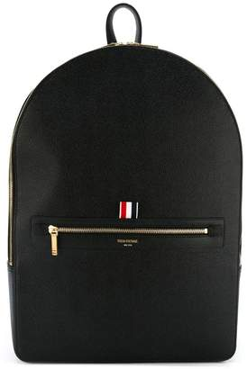Thom Browne Classic Backpack In Black Pebble Gain
