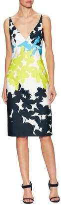 Milly Women's Liz Cotton Floral Print Sheath Dress