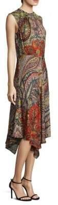 Etro Fern Paisley Dress