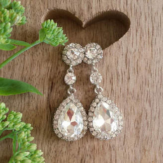 Sweet Pea Sunday Bridal Drop Earrings | Ideal Christmas Gift