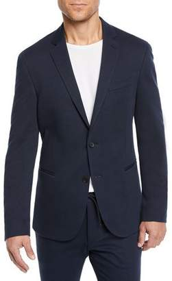 BOSS Men's Solid Jersey Blazer