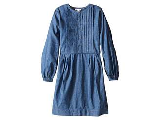 Burberry Mini Rosaline Pleat Front Dress (Little Kids/Big Kids)