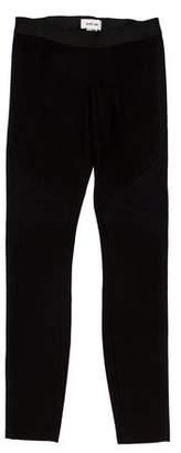 Helmut Lang Low-Rise Skinny Leggings