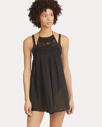 Ralph Lauren Crocheted Halter Cover-Up