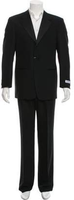 Pal Zileri Wool Two-Piece Suit w/ Tags black Wool Two-Piece Suit w/ Tags