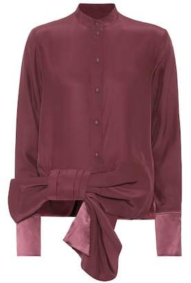 Victoria Beckham Victoria Bow silk shirt