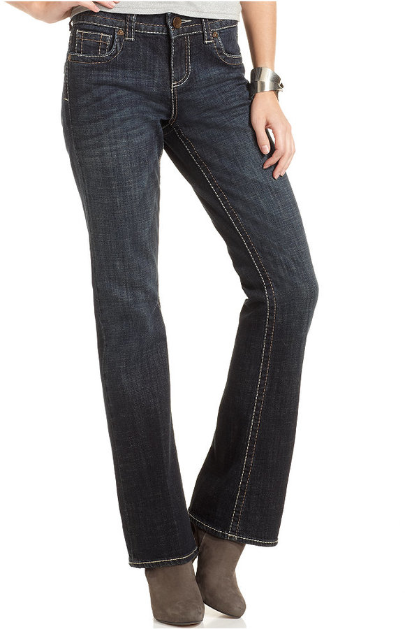 KUT from the Kloth Natalie Bootcut Jeans, Care Wash