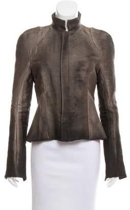 Juan Carlos Obando Silk-Blend Ombré Jacket