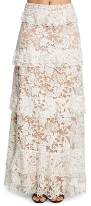 Willow & Clay Ruffle Maxi Skirt