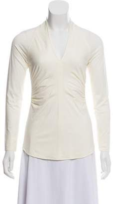 Charles Chang-Lima V-Neck Long Sleeve Top w/ Tags Lima V-Neck Long Sleeve Top w/ Tags