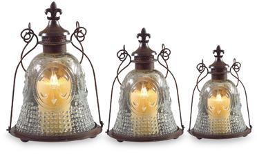 Fleur de Lis Lanterns (Set of 3)