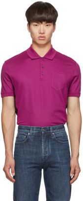 Givenchy Pink Slim Fit Logo Polo