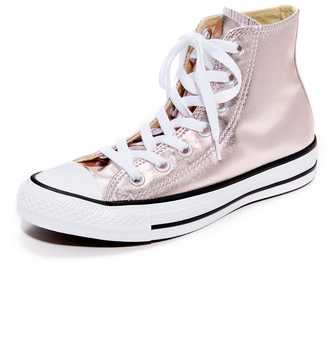 Converse Chuck Taylor All Star High Top Sneakers $65 thestylecure.com
