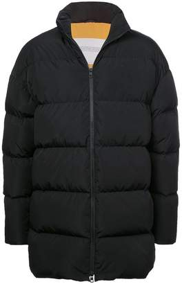 Calvin Klein Jeans Est. 1978 band collar padded jacket