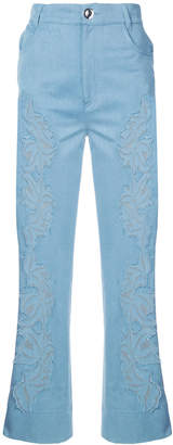 Ungaro high-waisted jeans