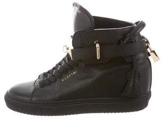 Buscemi Alta 100 High-Top Sneakers