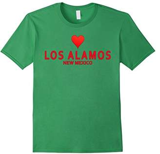 Los Alamos New Mexico with heart Love T-Shirt