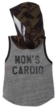 Million Polkadots Mom's Cardio Hooded Tank (Baby & Big Boys)