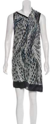 Helmut Lang Printed Knee-Length Dress