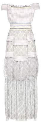 Peter Pilotto Striped lace dress