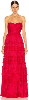 Alexis Allora Gown in Red Azalea | FWRD