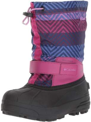 Columbia Girls' Youth Powderbug Forty Print Snow Boot