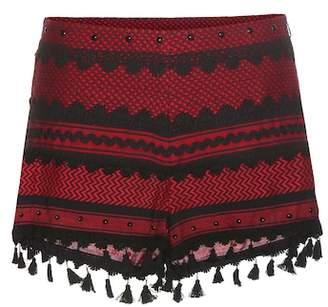 Dodo Bar Or Embroidered cotton shorts