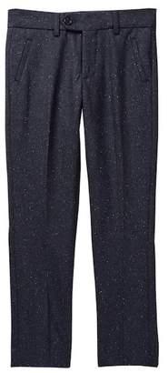 Isaac Mizrahi Tweed Wool Blend Dress Pant (Toddler, Little Boys, & Big Boys)