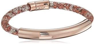 Kenneth Cole New York Rose Gold Items Rose Gold Bar with Mesh Tube Bracelet