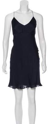 Ralph Lauren Black Label Silk Slip Dress