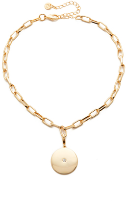 Jules Smith Lucky Charms Choker Necklace $75 thestylecure.com