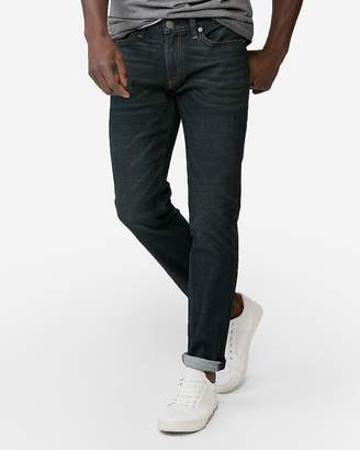 fae56769 Mens Fade To Blue Dark Wash Skinny Jeans - ShopStyle