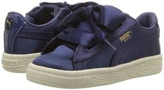 Puma Kids Basket Heart Tween INF Girls Shoes