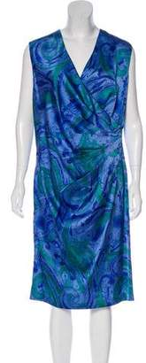 Lauren Ralph Lauren Printed Sleeveless Dress