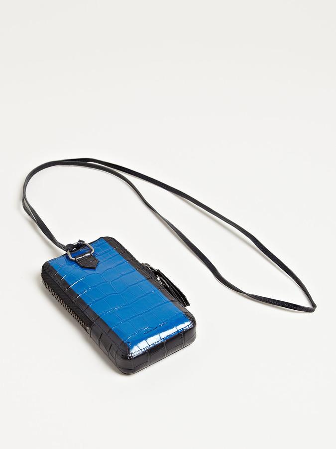 Dries Van Noten Men's Scale Patterned iPhone Holder